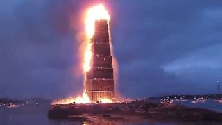 Das größte Lagerfeuer der Welt