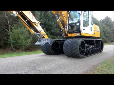 Liebherr 313 rubber track VTS high speed