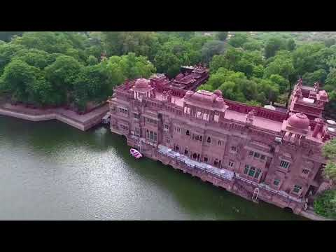 Bikaner The Heritage City Through Aerial View | Gajner Palace | Bikaner City | Junagarh Fort |