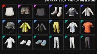 Teo Opens 91 PUBG Crates