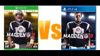 Madden 18 G.O.A.T VS. STANDARD EDITION/WHICH ONE TO BUY