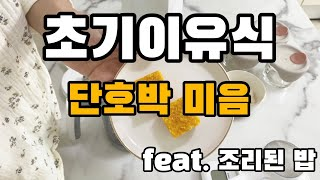 베이비 브레짜 이유식 마스터기 - 단호박 미음 만들기 …