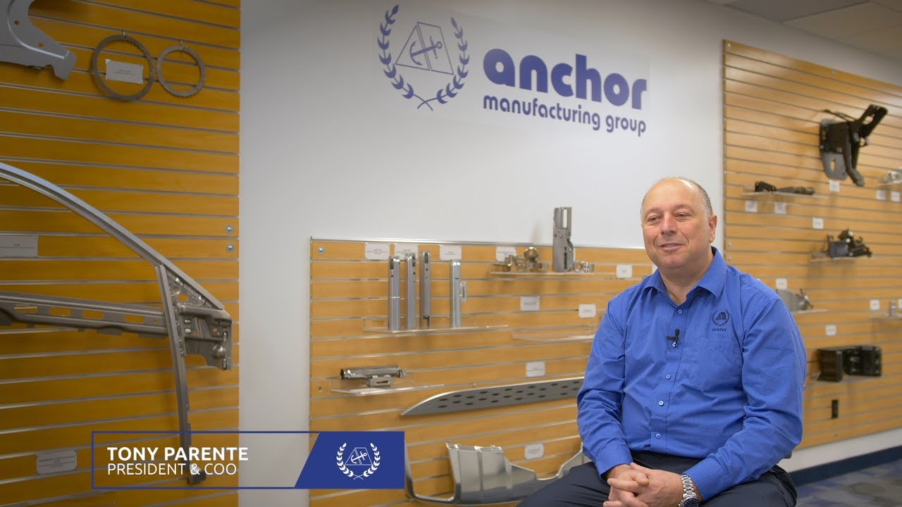 Anchor Manufacturing Group & Tony Parente