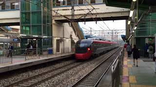 20184.30(月)18:58 韓国鉄道公社京釜線 衿川区庁駅(下りITXセマウル号通過)