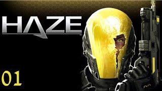 Прохождение HAZE (PlayStation 3) на русском #01