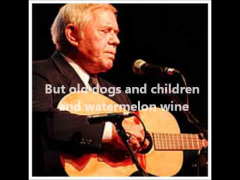 Tom T. Hall – Old Dogs, Children And Watermelon Wine #CountryMusic #CountryVideos #CountryLyrics https://www.countrymusicvideosonline.com/tom-t-hall-old-dogs-children-and-watermelon-wine/ | country music videos and song lyrics  https://www.countrymusicvideosonline.com
