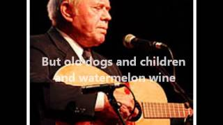 Tom T. Hall – Old Dogs, Children And Watermelon Wine Video Thumbnail