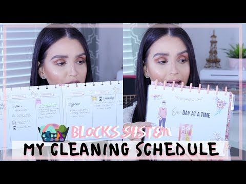 MY CLEANING SCHEDULE ⎮BLOCK SYSTEM HOW I STAY ORGANIZED thumbnail