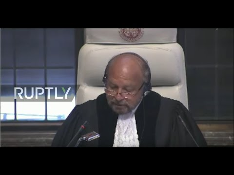 LIVE: ICJ delivers order on provisional measures requested by Ukraine against Russia