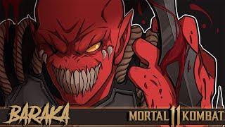 BARAKA MAKES PEOPLE RAGE QUIT! | Mortal Kombat 11 (MK11 Beta Gameplay)