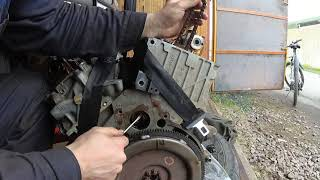 Ford Explorer 2 SOHC снятие двигателя. Замена цепей ГРМ.
