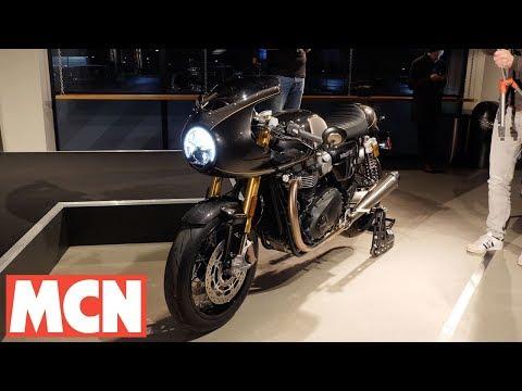 Triumph Thruxton TFC launch and Rocket TFC concept   MCN   Motorcyclenews.com
