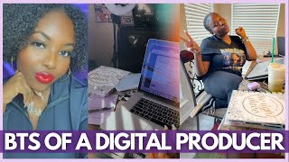 DIGITAL CONTENT PRODUCER WORK FROM HOME VLOG | CELEBRITY INTERVIEWS, MEDIA LIFE, & MORE