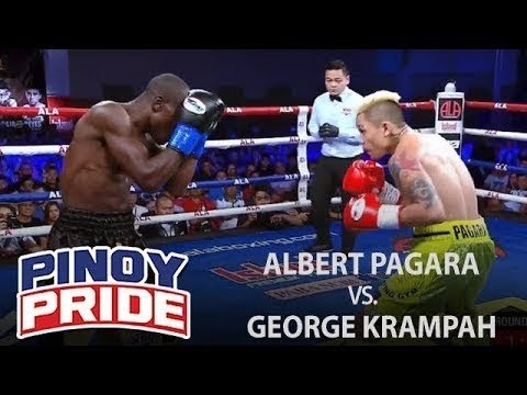 Pinoy Pride 45: Albert Pagara vs. George Krampah