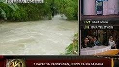 24 Oras: Pitong bayan sa Pangasinan, lubog pa rin sa baha
