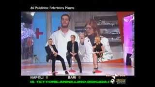 Lucia Ocone - L'infermiera Mimma interviene a Quelli che il calcio...