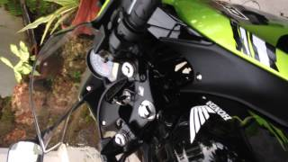 Honda CBR 150R with UNI High performance Airfilter.