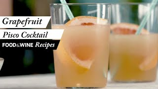 How to Make this Frosty Grapefruit Pisco Cocktail | Recipe