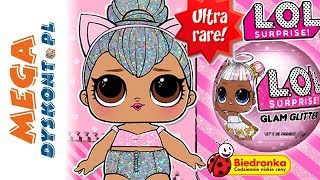 LOL SURPRISE Glam Glitter  Biedronka  Kitty Queen Ultra rzadka laleczka