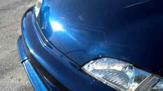 Quick Video of the car closed up with fresh paint, still a little m...
