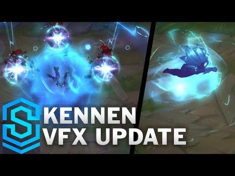 Kennen Visual Effect Update - All Skins Comparison | League Of Legends