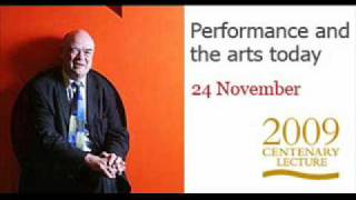 Centenary lecture: Sir Nicholas Kenyon (audio only)