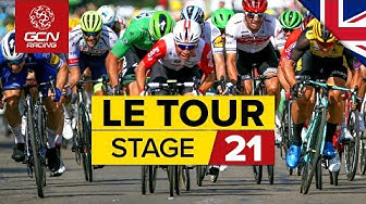 Tour de France 2019 Stage 21 Highlights: Paris Champs - Élysées Sprint Finale