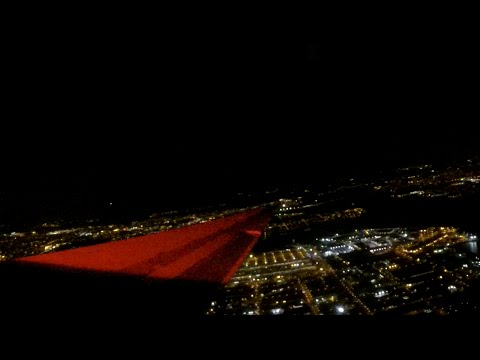 Delta MD-88 Nighttime Takeoff & Climb from LaGuardia Airport