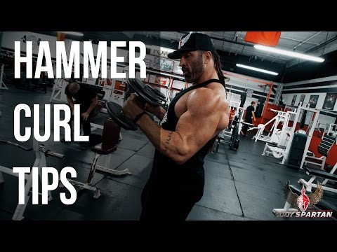 Arm Workout Tips | Hammer Curls | Biceps Workout