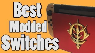 Top 5 Modded Nintendo Switch Consoles | Coolest Nintendo Switch Mods