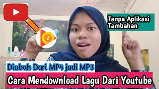 Cara Mendownload Video Youtube ubah jadi MP3 || Tanpa Aplikasi !!!