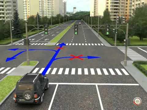 Регулирование дорожного движения. Сигналы светофора.