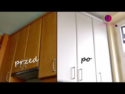 Odmien Calkowicie Swoja Kuchnie Jak Pomalowac Szafki Youtube