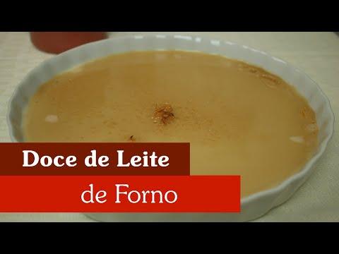COMO FAZER DOCE DE LEITE DE FORNO!?