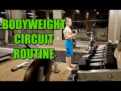 Kids Circuit Routine | 5 Bodyweight Exercises | Kids Fitness | BJJ | Muay Thai | MMA
