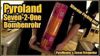 Pyroland Seven-2-One Bombettenrohr - Titangold | PyroManiac & Street Fireworker