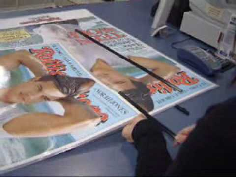 How To Use Poster Hangers - YouTube