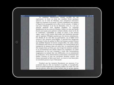 Différences entre livres numériques au format PDF et ePub