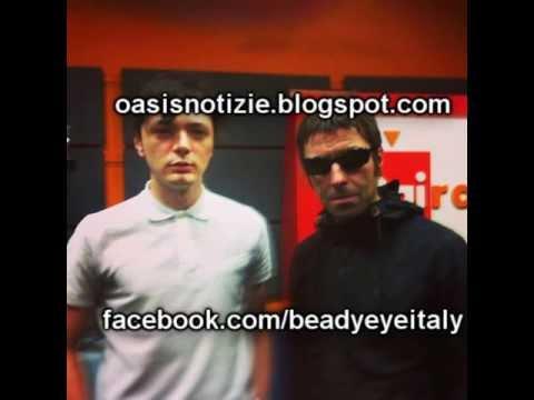 [FULL] Beady Eye acoustic session + interview on Radio Due Babylon, Milan Italy June 2013