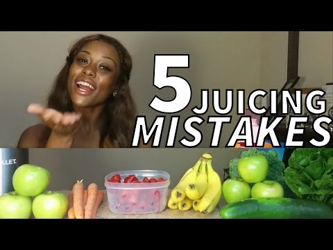 Are you Juicing WRONG?! | 5 Commonly Made Juicing Mistakes |  #juice4five