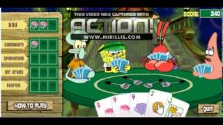 Poker With Spongebob