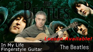 In My Life, The Beatles, fingerstyle guitar, Jake Reichbart