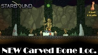 STARBOUND - New Carved Bone Location : Glad Giraffe stable