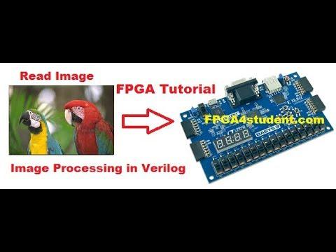 Image processing on FPGA using Verilog HDL - FPGA4student com
