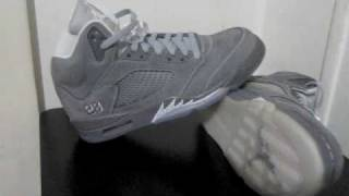 Stickie213 - Air Jordan 5 V Wolf Grey 2011 Sample