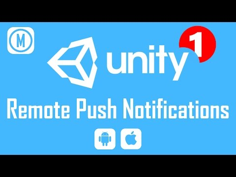 🎓 Unity 3D How to: Remote Push Notifications [FREE] [NO SERVER REQUIRED] 📱