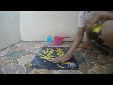 TUTORIAL MEMBERSIHKAN MOUSE PAD (HOW TO CLEAN YOUR MOUSE PAD)