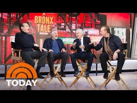 Robert De Niro, Chazz Palminteri Talk About 'Bronx Tale' Musical | TODAY