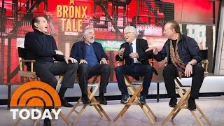Robert De Niro, Chazz Palminteri Talk About 'Bronx Tale' Musical | TODAY