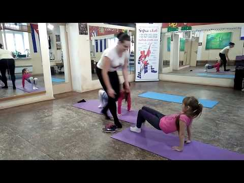 Fitness -KIDS, Salsa Club Kids , Ukraine, Kiev